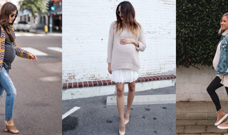 A Week of Maternity Style