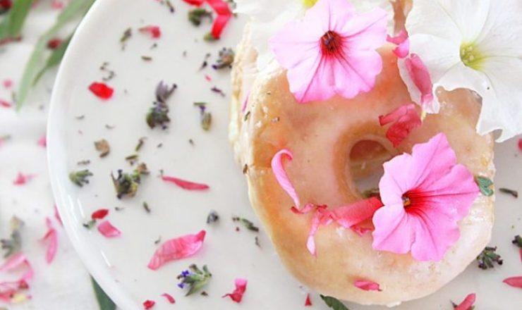 Bite Sized Floral Treats