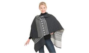 Vrikke Wool Poncho