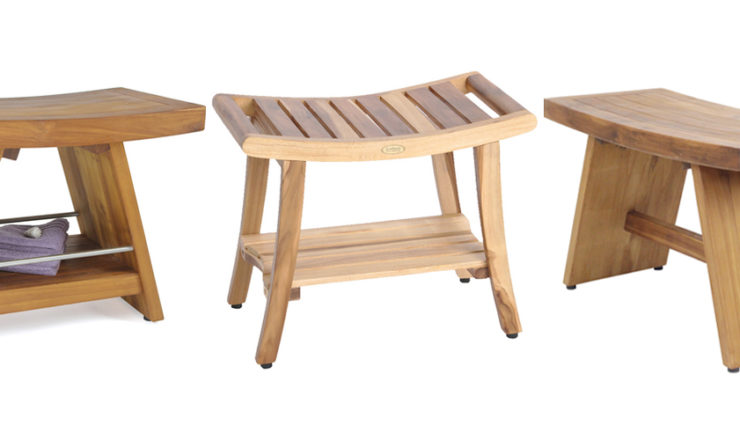 Best Teak and Bamboo Shower Benches