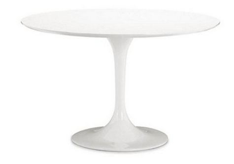 Aron Living Rose Round Wood Top Dining Table