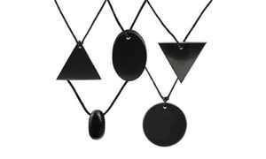 Heka-Naturals-5-Piece-Shungite-Pendant-Necklace