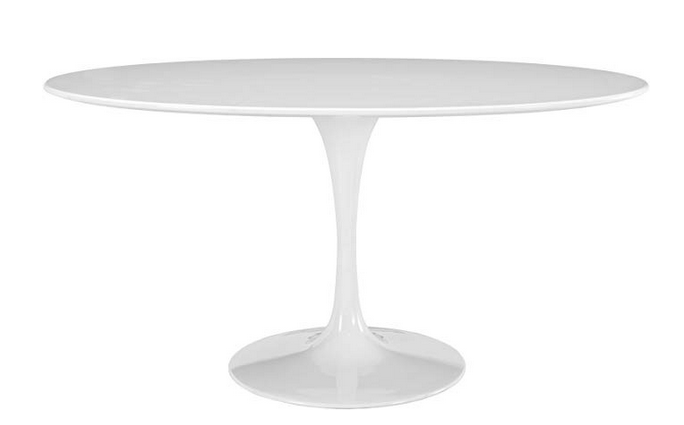 Modway Lippa Oval Tulip Dining Table