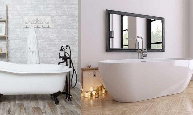 Acrylic vs. Cast Iron Bathtub: Full Comparison