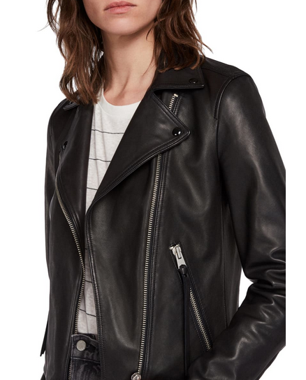 Allsaints Dalby Leather Moto Jacket