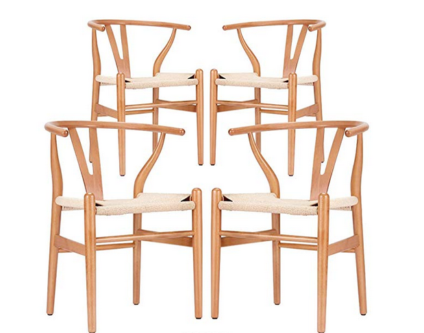 Amazon Wishbone Chairs