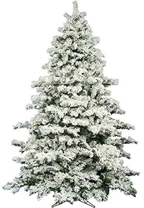 Amerique Heavily Flocked Snow Christmas Tree