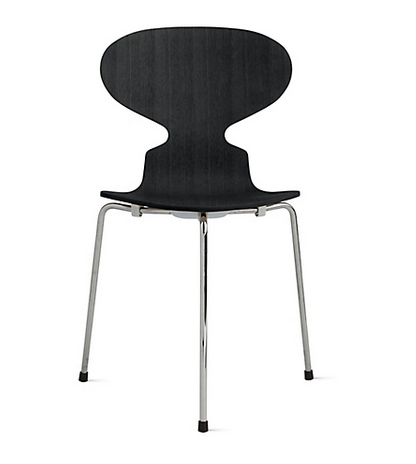 Ant™ Chair with 3 Legs in Colored Ash