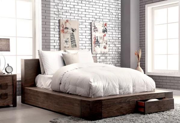 Arianna Storage Platform Bed