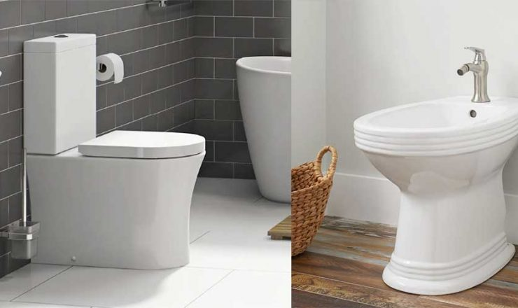 Washlet vs Bidet – What are they & Which one is better?