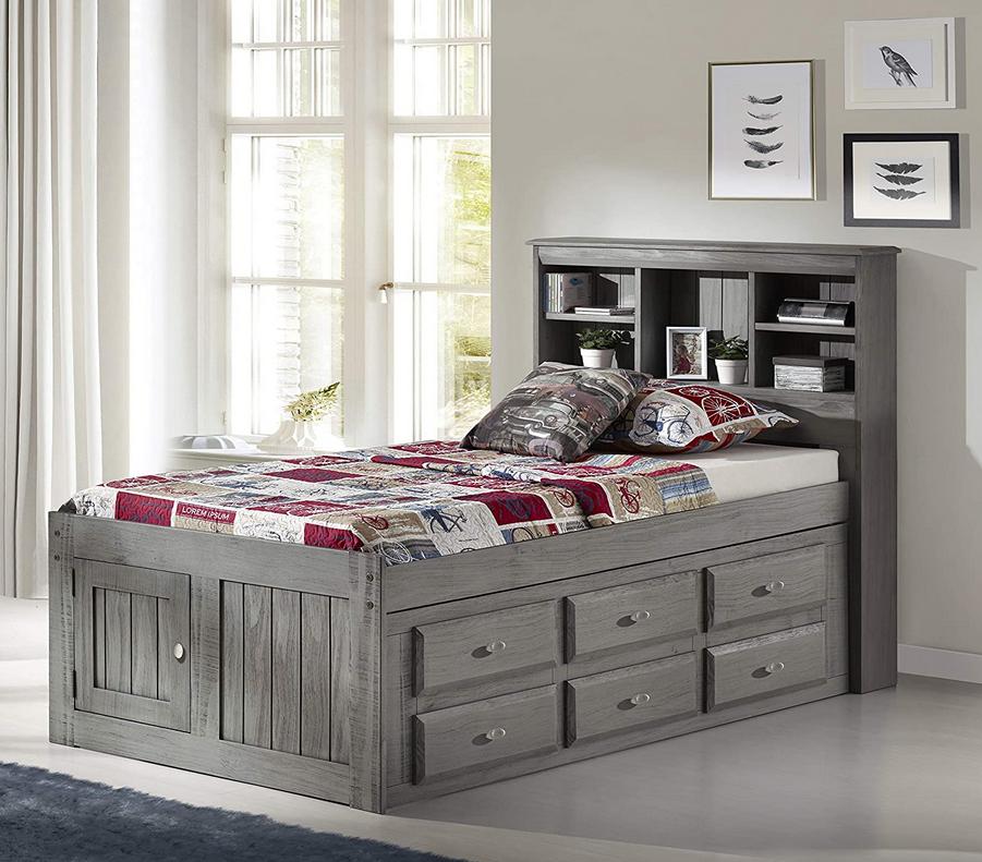 Bookcase Bed Frames