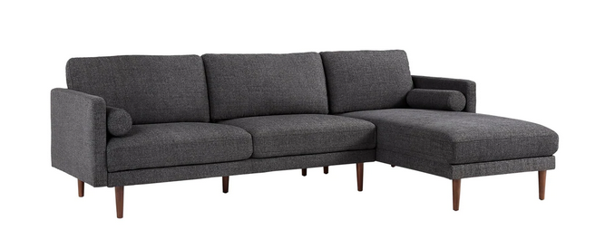 Carson Carrington Hjarpasen Rubberwood Sectional Sofa