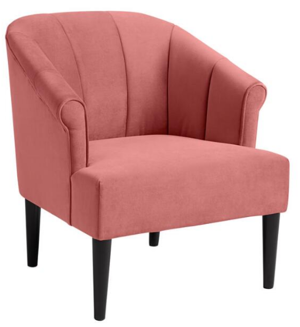 Channel Back Leslie Upholstered Chair