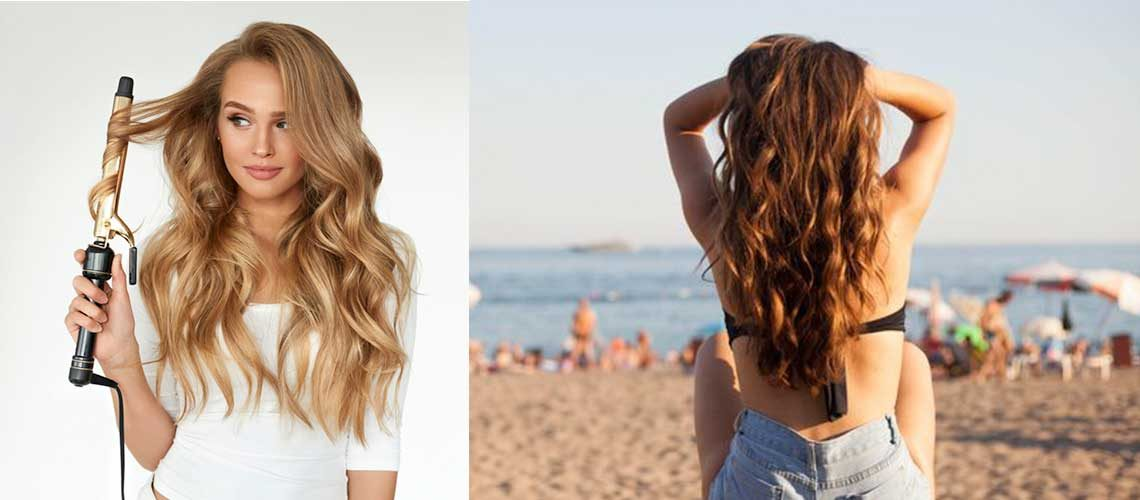 Curling Irons for Beach Waves