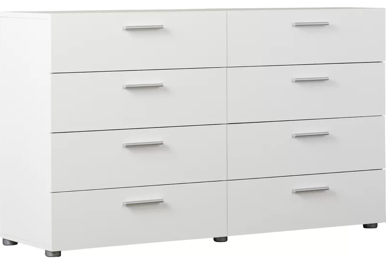 Dendron 8 Drawer Double Dresser