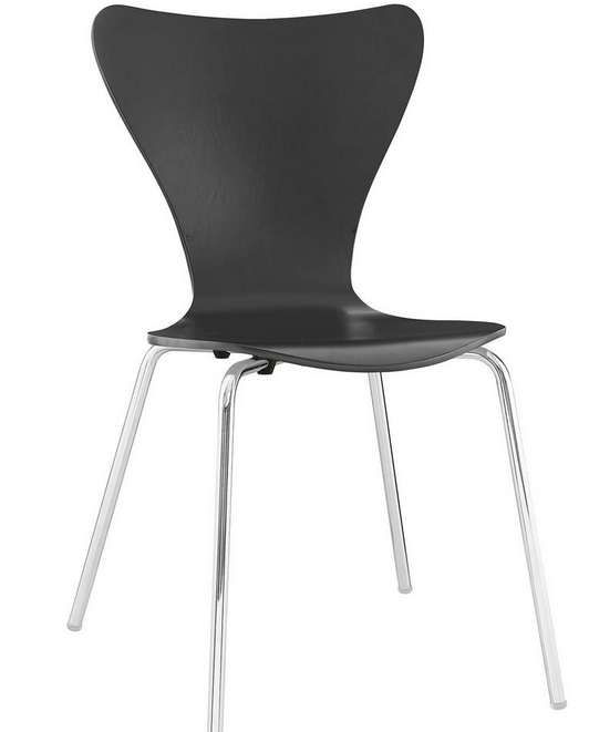 Ernie Black Dining Side Chair