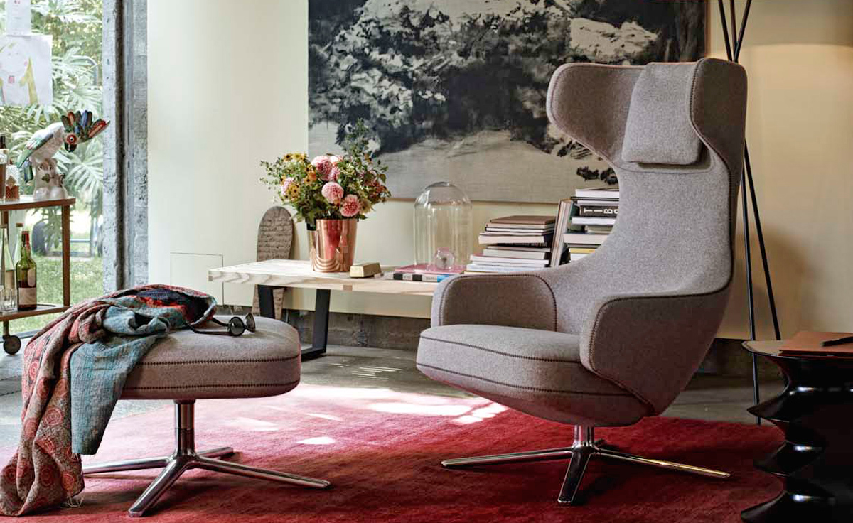 Vitra Lounge Chair Replica grand repos chair replica - best & cheapest online - style