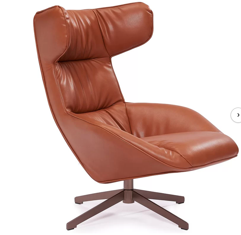 Hajar Swivel Wingback Chair