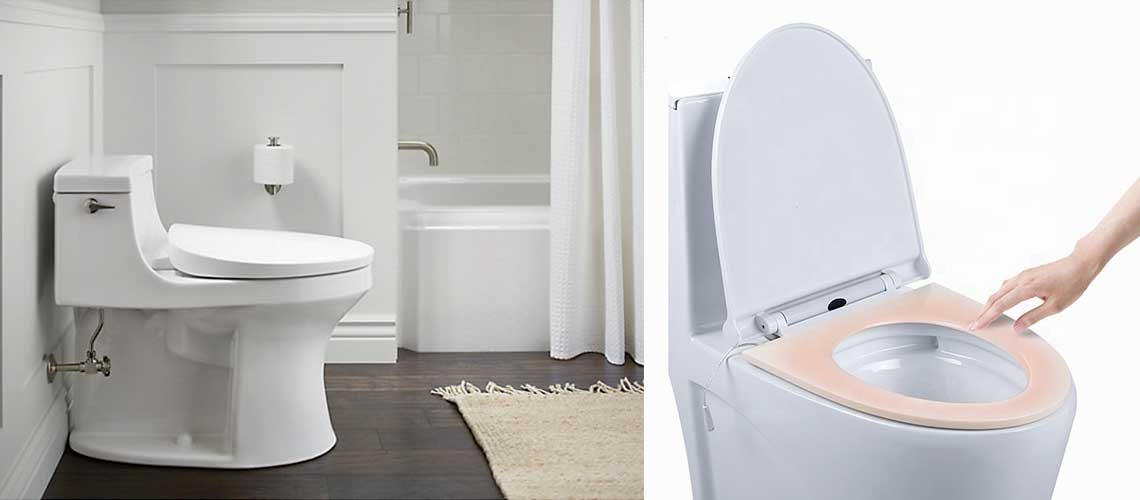 Heated Toilet Seats to Keep you Warm During Cold Months!