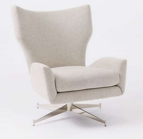Hemming Swivel Base Chair