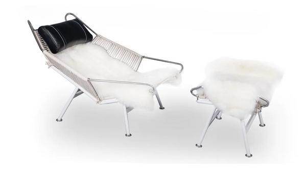 Kardiel Mid-Century Flag Halyard Chair