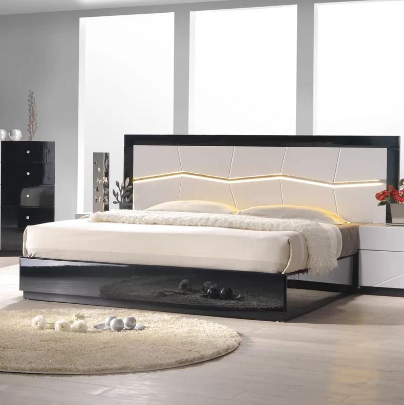 Lighted Bed Frames