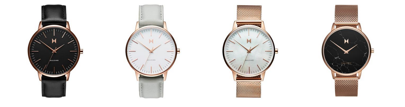MVMT Boulevard Collection Watches