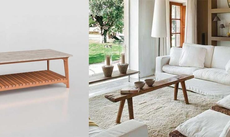Narrow Coffee Table for Tight Spaces