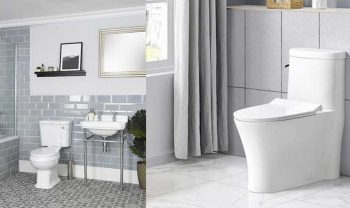 One-piece vs Two-piece Toilet – Pros, Cons, Comparisons and Costs