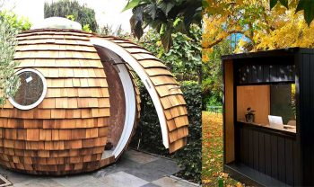 Outdoor Office Pods & Backyard Sheds for Remote Work