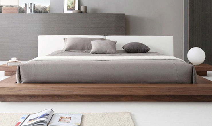 Platform Bed with Nightstands Attached – Most Affordable Online!