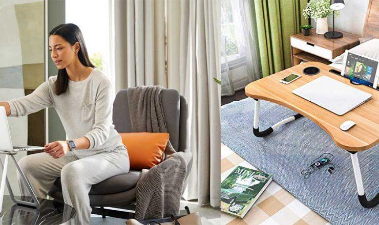 Portable Laptop Desk & Tables for Work & Travel!
