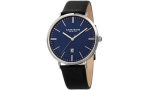 Quartz-Blue-Dial-Mens-Watch