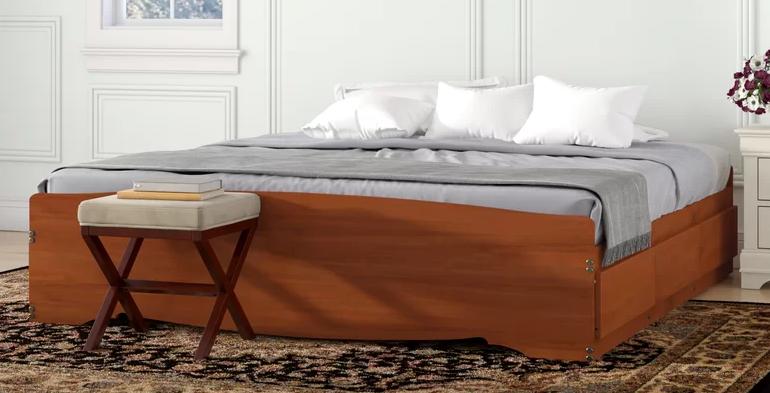 Oleanna Storage Platform Bed