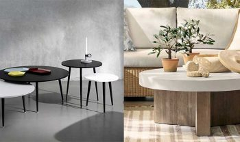 Small Round Coffee Table for Tight Spaces & Smaller Rooms