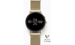 Smartwatch-Falster-2-Gold-Tone-Mesh