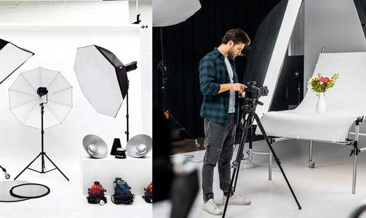 Studio Photography Kit For Beginners