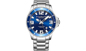 Stuhrling Original Men's Swiss Quartz Dive Watch