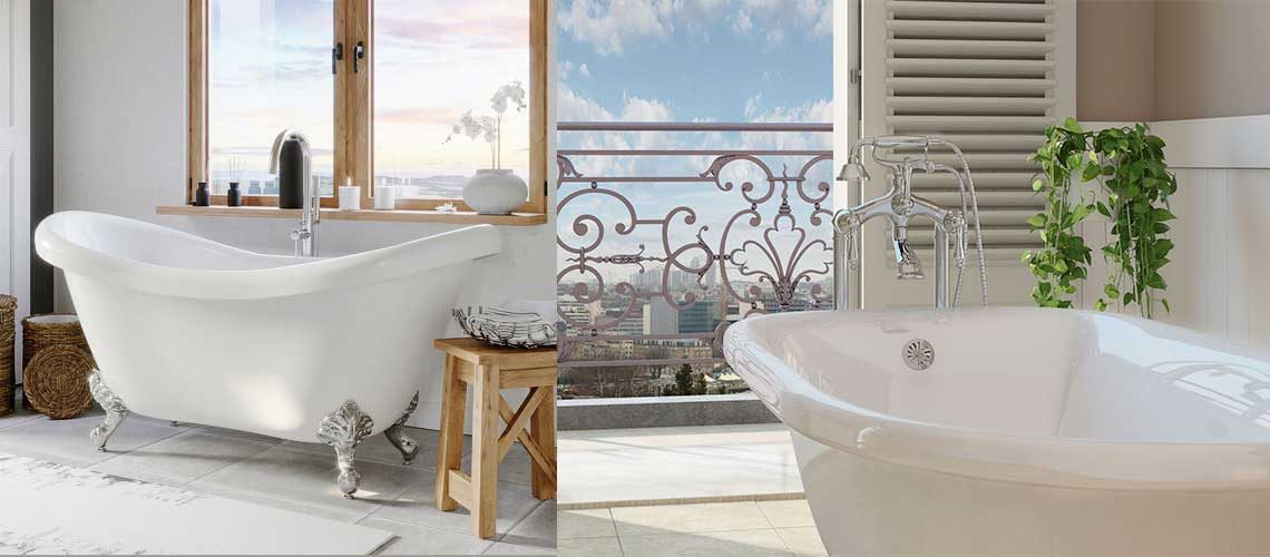 Clawfoot Tubs – Here's the Best Standing bathtubs you can Buy!