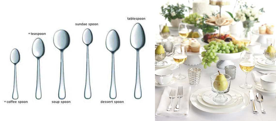 Types of Spoons – Styles for Every Different Occasion, Dish & Drink