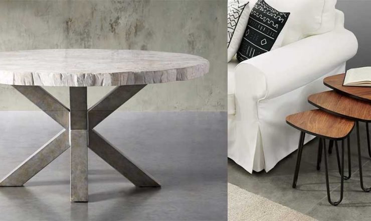 Types of Tables for your Home, Living Room, Dining Room, Nook & More!