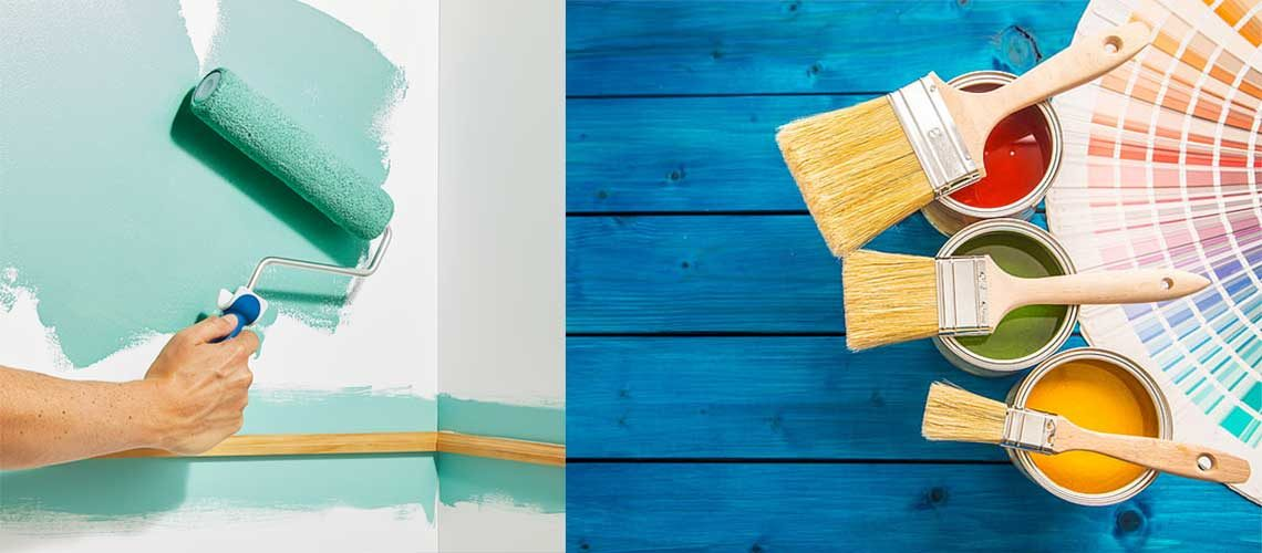 Types of Paint for Homes (Interior & Exterior)
