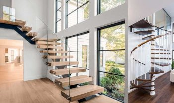 Types of Staircases for your Home