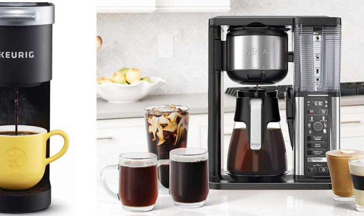 Under Cabinet Coffee Maker Perfect for Small Spaces & Great Coffee