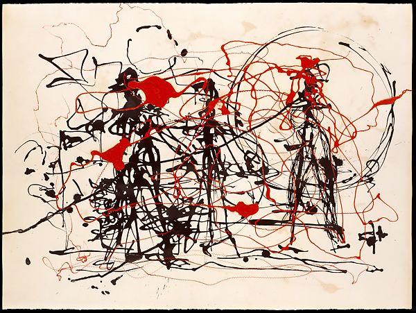 Untitled Jackson Pollock