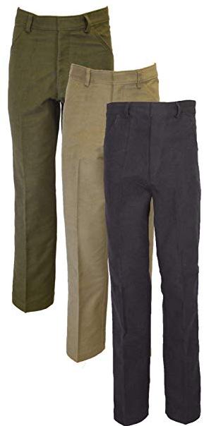 men's stretch moleskin jeans