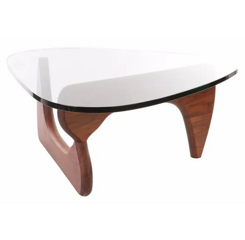 Walnut Noguchi Coffee Table
