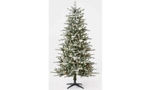 Wondershop Pre-Lit Flocked Christmas Tree