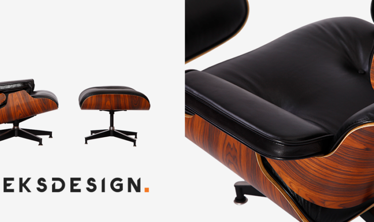 Keeks Design Eames Lounge Chair & Ottoman Replica Review