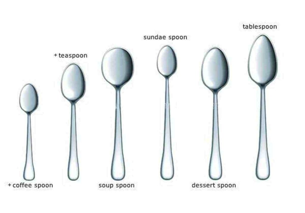types of spoons